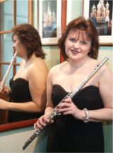 Book Clare as a Flautist or Singer for your concert